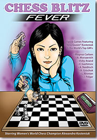 "Alexandra Kosteniuk is infected with ""Chess Blitz Fever"" ... Are you?"