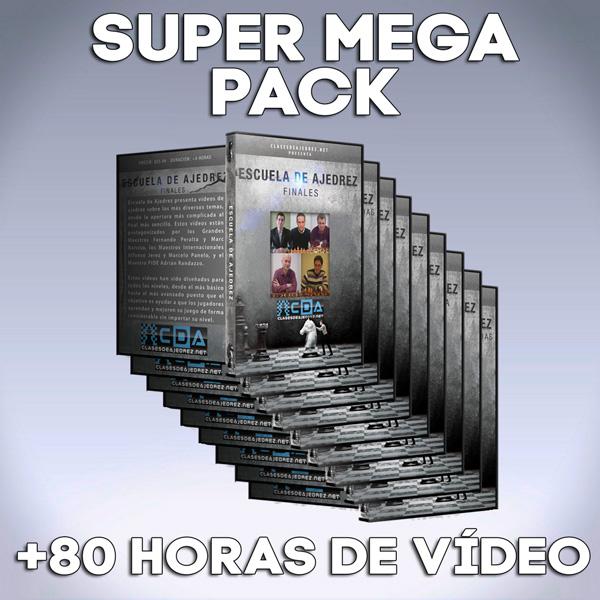 Todas las Clases de Escuela de Ajedrez - SUPER MEGA PACK (Descarga Digital)