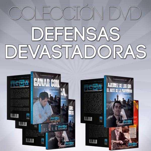 Defensas Devastadoras - Colección DVD de Ajedrez