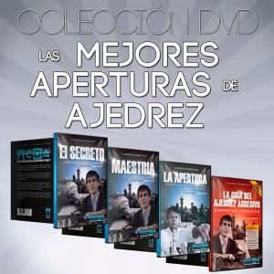 Las Mejores Aperturas de Ajedrez - Colección en DVD