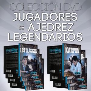 Jugadores de Ajedrez Legendarios - Colección en DVD