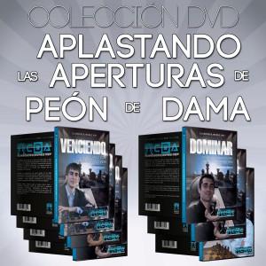 Aplastando las aperturas de peón de Dama - Colección DVD de Ajedrez