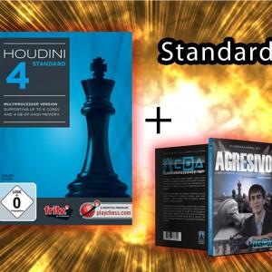Houdini 4 Standard + 1 DVD de Imperio Ajedrez Gratis