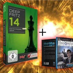 Deep Fritz 14 + 1 DVD de Imperio Ajedrez Gratis