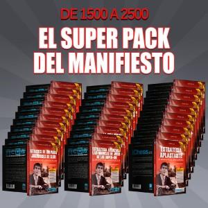 De 1500 a 2500 - El Super Pack del Manifiesto