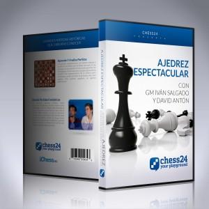 Ajedrez Espectacular - GM Iván Salgado y David Antón