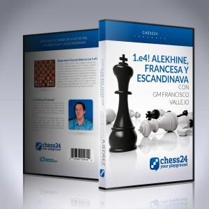 1.e4! Alekhine, Francesa y Escandinava - GM Francisco Vallejo