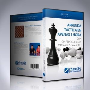 Aprenda táctica en apenas 1 hora - GM Pepe Cuenca y MI Marcos Camacho