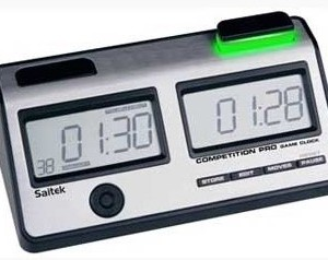 Reloj Digital de ajedrez SAITEK COMPETITION PRO