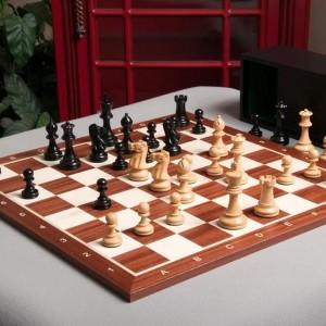 Tablero y set de ajedrez del Gran Maestro