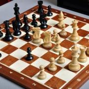 Tablero y set de ajedrez de la serie Club