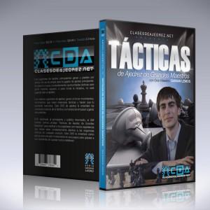 Tácticas de Ajedrez de Grandes Maestros (DVD para Principiantes) - GM Damian Lemos